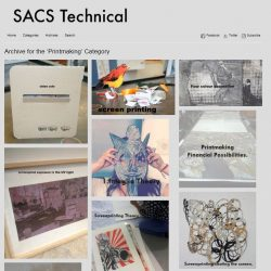 Image of School or Arts and Cultures Technical Website