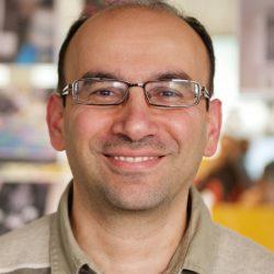 Dr Ahmed Kharrufa smiling