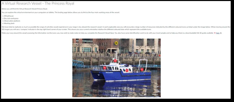 Virtual research vessel