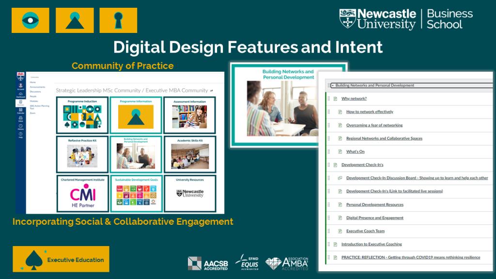Image of the Digital design features and intent quadrant